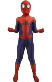 Costume enfant The Amazing Spider-Man 2 imprimé seconde peau
