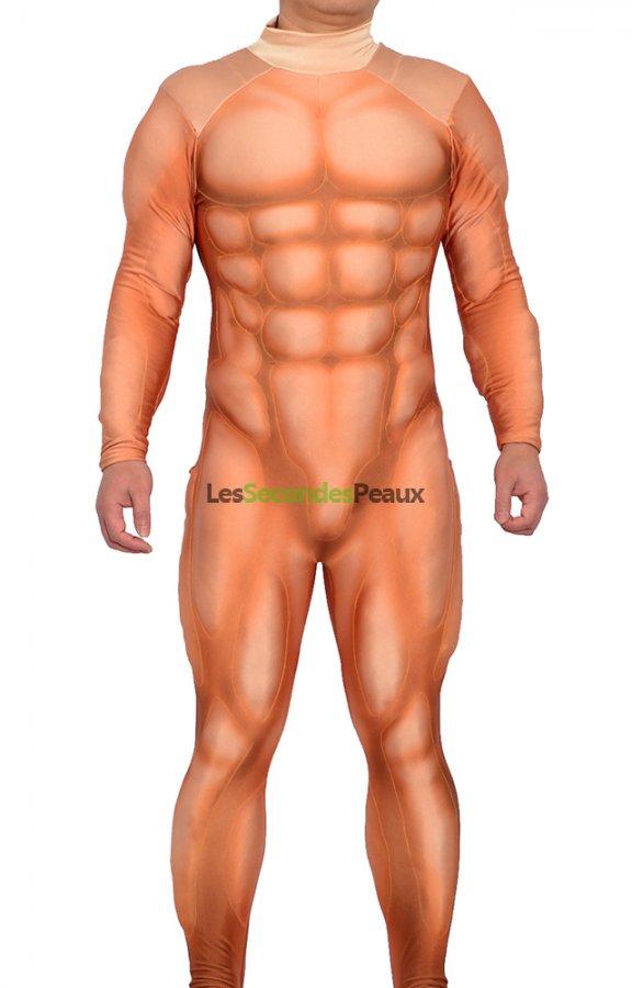 Homme Costaud costume de spectacle homme costaud muscle déguisement theatre