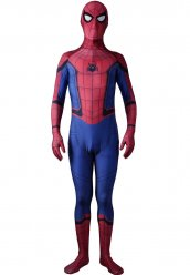 Spandex Lycra Costume de Spiderman Homecoming version 2