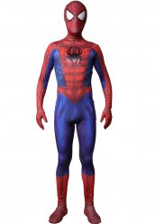 Web peinte en 3d déguisment Ultimate Spider-Man suit