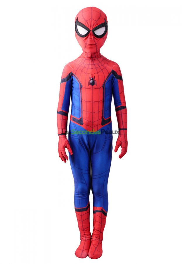 c535d71d5ee48f Déguisement enfant Toussaint Spider man homecoming cosplay