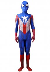 Déguisement Capitaine Spider man hybride costume