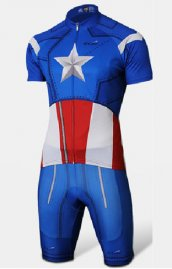 Captaine America triathlon combinaison ultra-performant