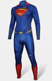 Superman combi cycliste ultra-performant manches longues