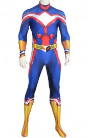 All Might costume imprssion numerique effet 3D musculaire