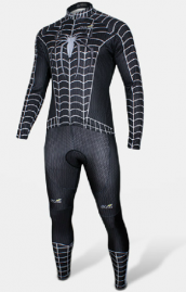 Spiderman combi cycliste ultra-performant manches longues