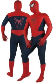 Spider Man costume seconde peau élasthanne lycra Spider Man zentai