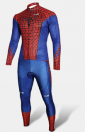 The Amazing Spiderman combi cycliste ultra-performant manches longues
