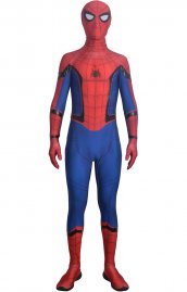MCU Homecoming Spider man déguisement imprime costume
